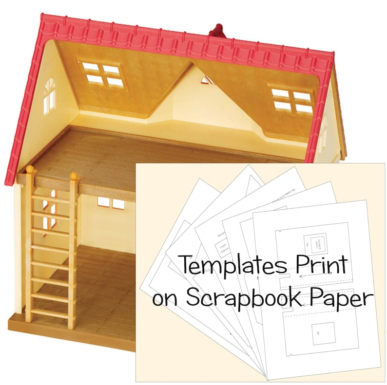 Calico Critters Cozy Cottage Starter Home Wallpaper Templates image 0
