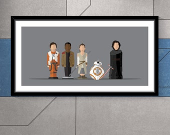 Star Wars Force Awakens -  Featureless Portrait