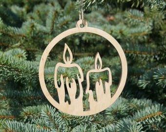 laser cut christmas tree ornament wooden xmas decorations gift unfinished candle shapes christmas cutouts wood embellishment