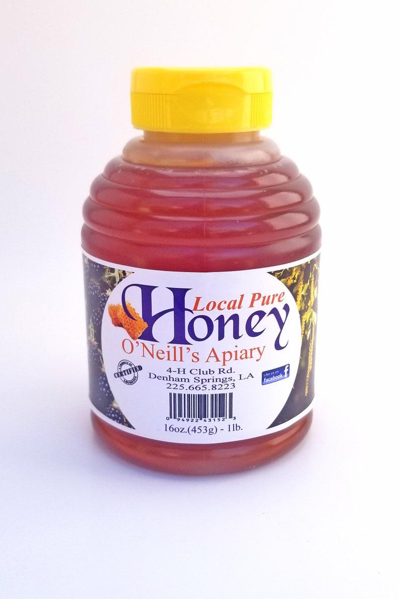 Honey Pure Natural & Raw 1lb image 0