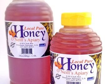 Honey Pure, Natural, & Raw 1lb / 1.5lb