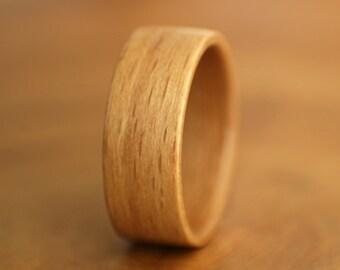 Beech Bentwood Ring - Handmade