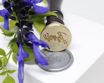 Hand Lettered Thanks Wax Seal