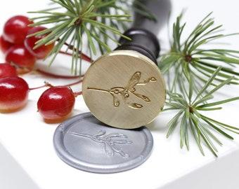 Mistletoe Wax Seal Stamp