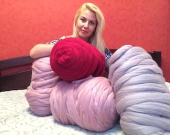 Chunky Yarn, Super chunky yarn, arm knitting yarn, Super bulky yarn, Bulky yarn, Thick yarn, super chunky wool,super chunky merino wool yarn