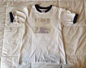 Vintage - Smiths Morrrissey - Youth Large Ringer T -Shirt - 1990s Anvil - Single Stitch
