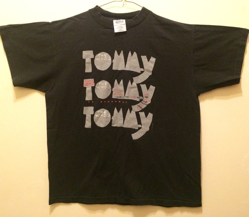 6c6ecc60b Vintage 1993 The WHO-Tommy T-Shirt
