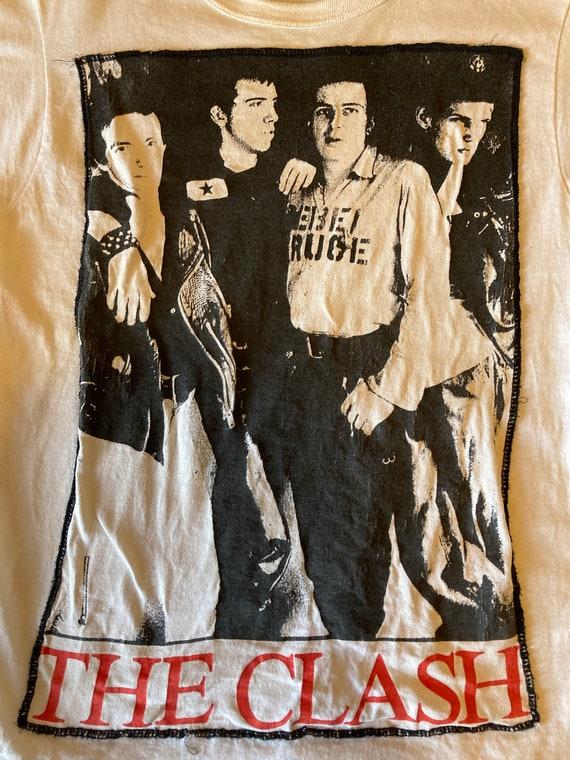 Vintage -The Clash -1990s Single Stitch - T-Shirt… - image 4