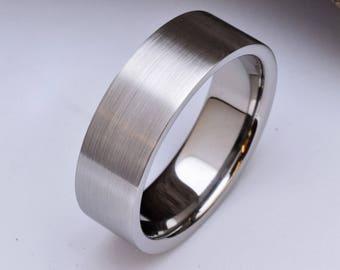 Mens Titanium Ring Etsy