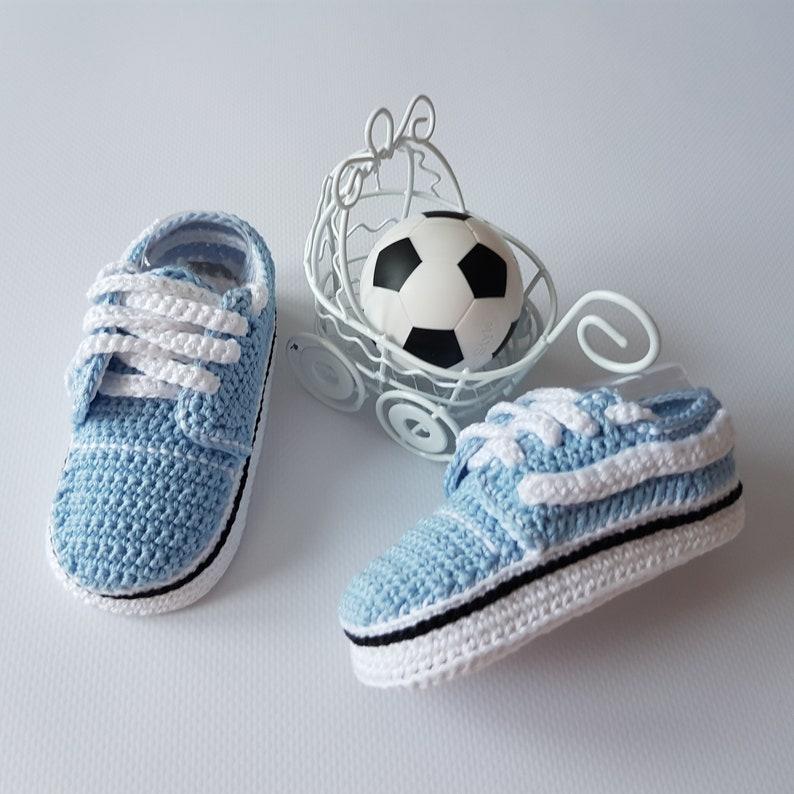 d3d33084e8 Crochet PATTERN Vans style baby sneakers Vans style slip-on