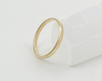 Gold Wedding Band Etsy