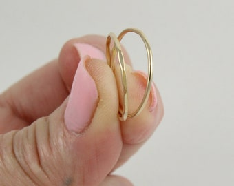 Super thin gold ring   Stackable ring   Ultra thin ring   Skinny gold ring   Simple gold ring   Minimal gold ring   Gold stacking ring