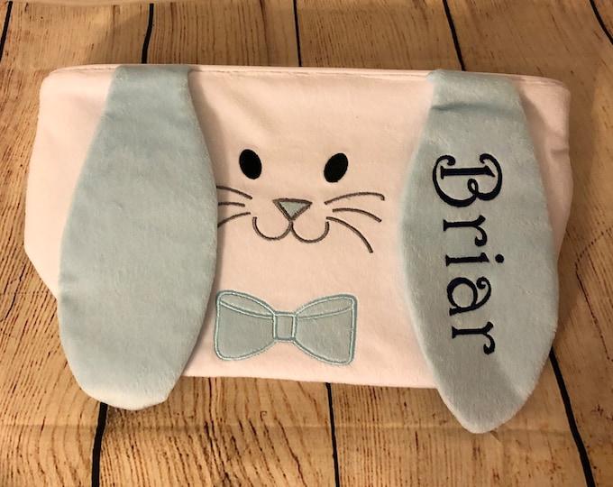Easter Bucket - Easter Basket - Easter Tote Bag, Monogrammed Easter Baskets, Personalized Easter Buckets, Hippity Hoppity Easter Buckets