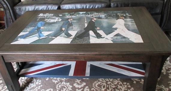 Mission Craftsman Beatles Coffee Table British U K Union
