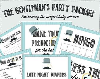Little Gentleman's Baby Shower Package
