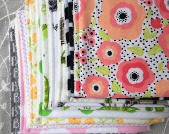 Add-on: BURP CLOTHS - Mix & Match DISCOUNT - read instructions!