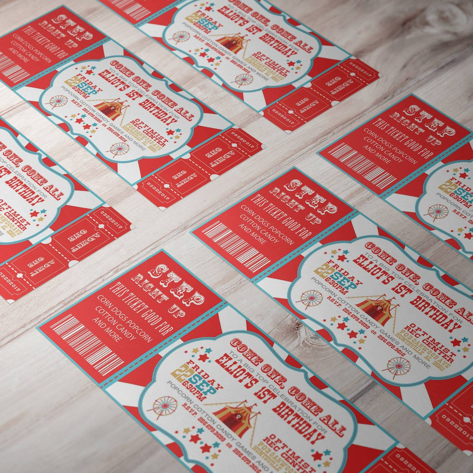 Carnival Birthday | Boys Birthday Invitations | Carnival Invite ...