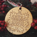 Marian Cross Christmas Tree Ornament - Limited Edition