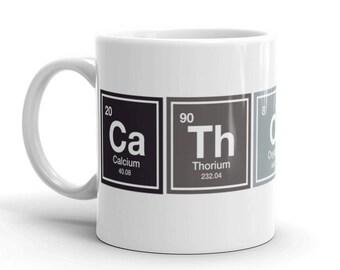 catholic mug periodic table mug catholic gifts christian mug teachers gift mug