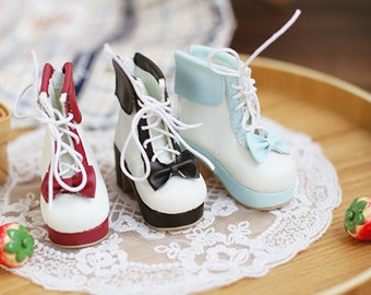 CODENOiR - Lolita Ankle Boots for msd  / mdd / angel philia / 1/4 BJD