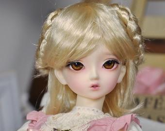 CODENOiR - BJD wig 7-8 inch wig for MSD, 1/4 BJD (1)