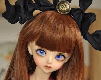 CODENOiR - BJD wig 8-9 inch Pastel long curly wig fr Sd 10 Boy / 10 girl / 13 girl / SDGr / DD M Bust / dd L Bust / DDdy / 1/3 BJD Girl (1)