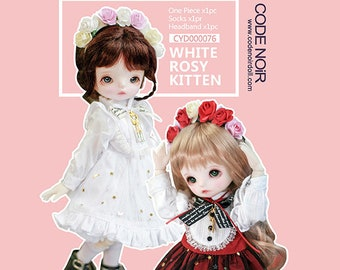 CODENOiR -  Rosy Kitten BJD clothes for YoSD / 1/6 26 cm BJD