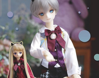 CODENOiR -  Young Master BJD clothes for msd / mdd / angel philia / 1/4 BJD/ Holiday