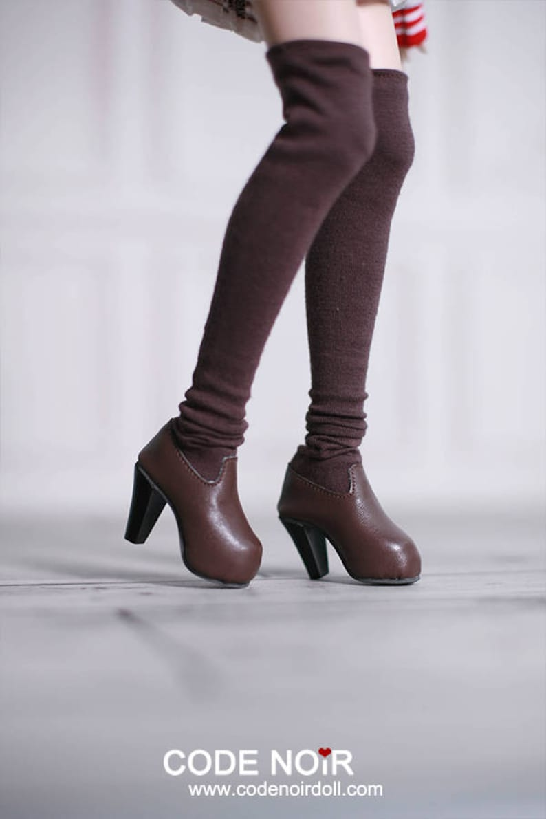 9280879e524 CODENOiR Thigh-High Stocking Boots High Heel BJD shoes for