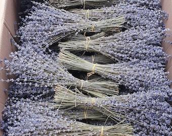 Dried lavender bundles 250 stems Grade A  lavender bouquet   OWN HARVEST 2021  - 100% natural    Flowers for Home, Wedding Decor