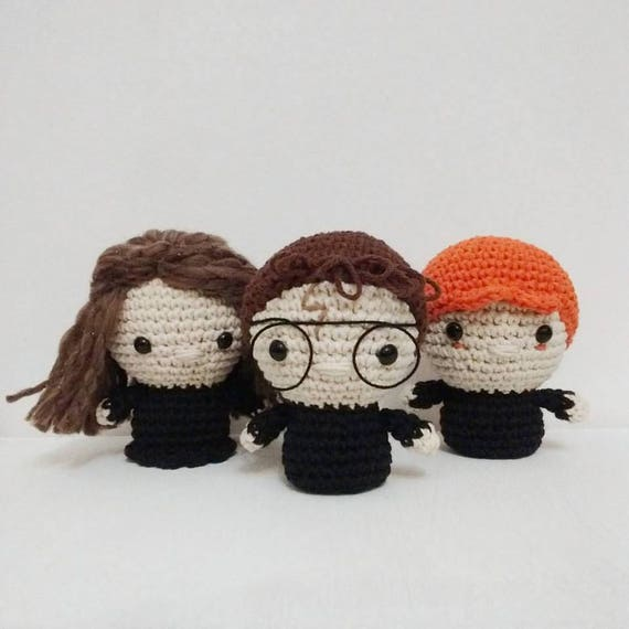 Mini Ron Weasley amigurumi Harry Potter Patrón PDF | Etsy