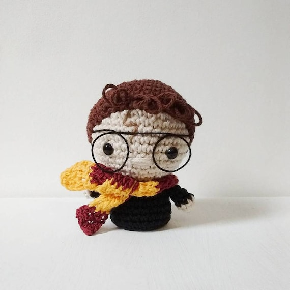 Mini Harry Potter Amigurumi - Patrón PDF - ENG & ESP