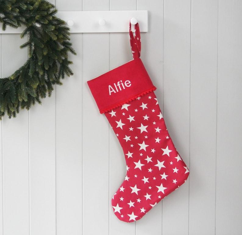 b356a446b Christmas Stocking Holiday Stocking Personalised Christmas