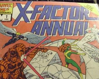 "Marvel 25th Anniv. Giant Sized Annual Vol. 1  #1 Oct. 1986 ""GRAND DESIGN"""