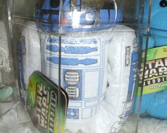 """Star Wars Buddies Bean Toy """"R2-D2"""" Hasbro Kenner 1997 66925 # 66941"""