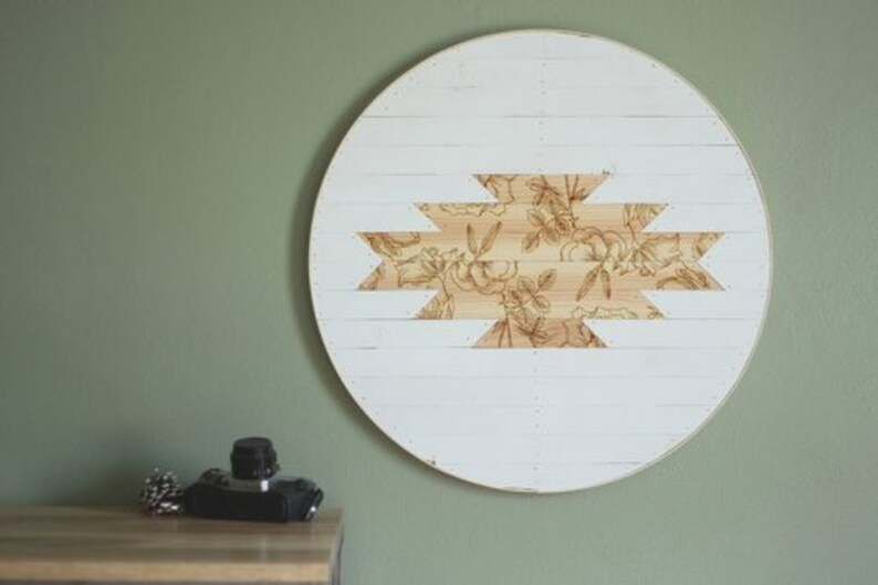 Floral Engraved Wood Wall Art Nursery Art Reclaimed Wood Wall Art Minimal Wall Art Wood Wall Art Floral Wall Art
