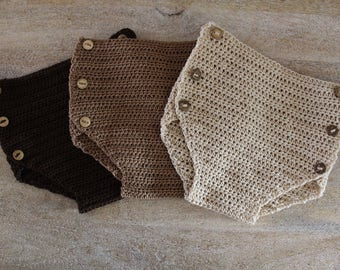 Baby crochet nappy cover