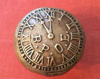 Antique B.P.O.E. Brass Doorknob. Elks Lodge Memorabilia. Benevolent and Protective Order of Elks. Antique Hardware. Brass Doorknob. BPOE