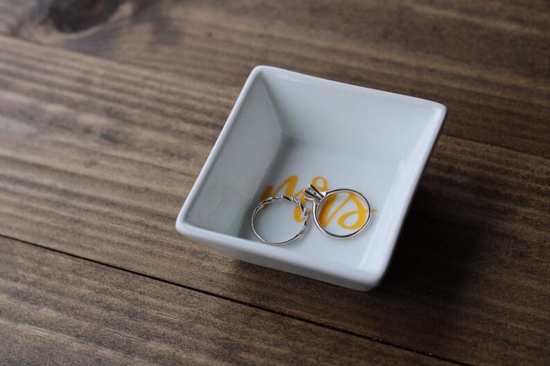 Ring Dish Gift for bride Stocking stuffer Wedding Ring Dish Ring Holder Wedding Ring Storage Jewelry Dish Ring Storage