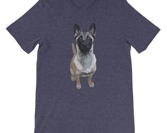 Belgian Malinois, love, pup, puppy, dog, love heart, cuteness, pink love heart, unique, little Heather