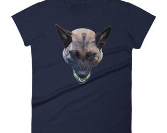 Belgian Malinois, love, pup, puppy, dog, unique, little Heather t-shirt