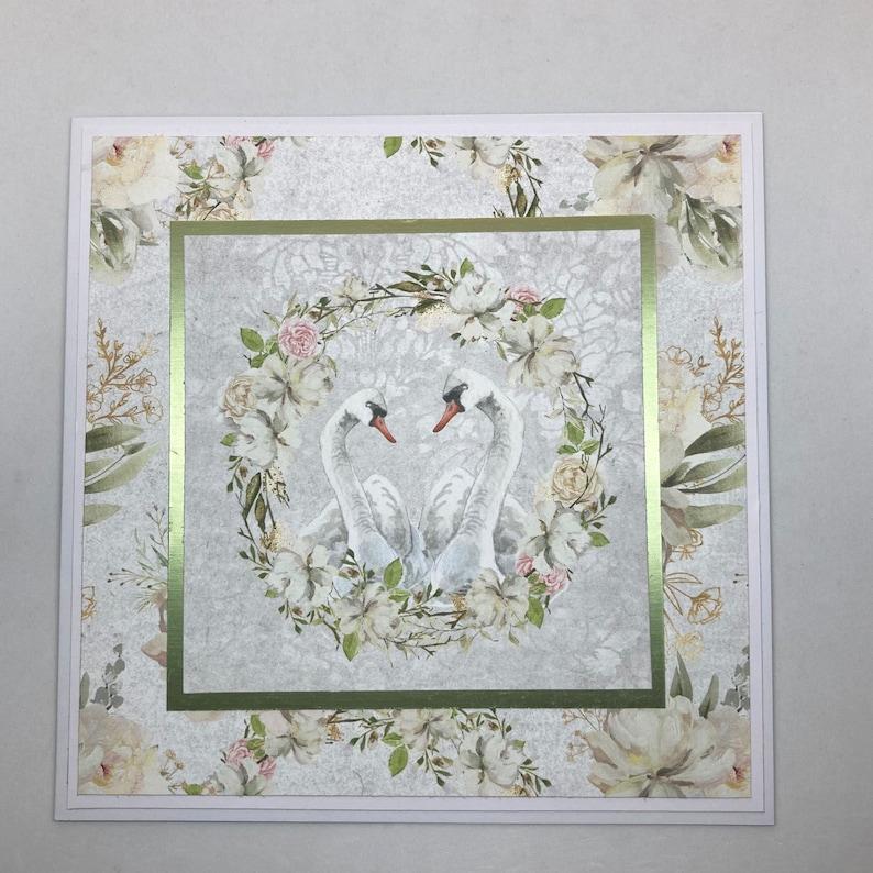 Greeting card: Just Married wedding card bykarinbuchnielsen image 1