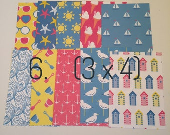 Journaling cards / Set of 10 / Project Life cards / 3 x 4