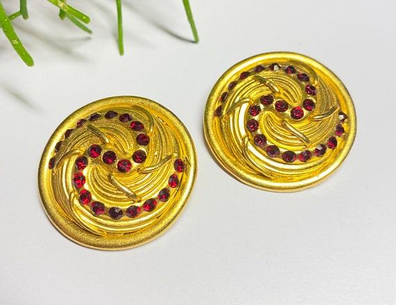 Claire Deve - vintage earrings earrings french de… - image 3