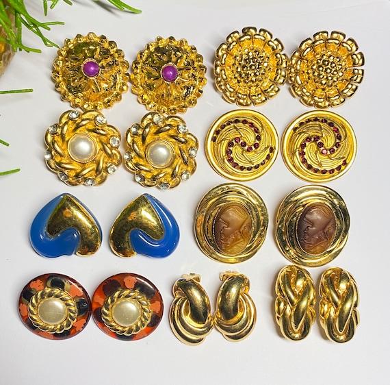 Claire Deve - vintage earrings earrings french de… - image 2