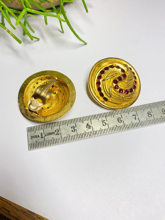 Claire Deve - vintage earrings earrings french de… - image 9