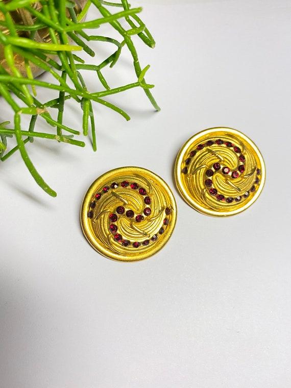 Claire Deve - vintage earrings earrings french de… - image 8