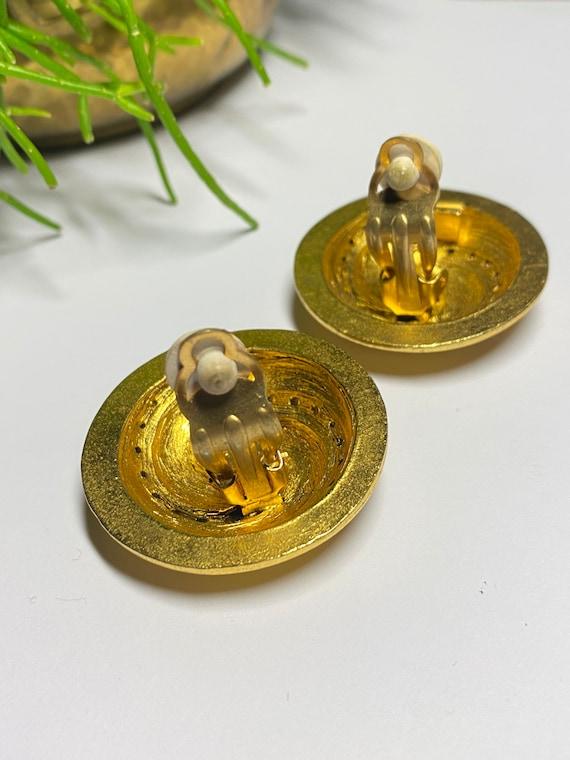 Claire Deve - vintage earrings earrings french de… - image 7