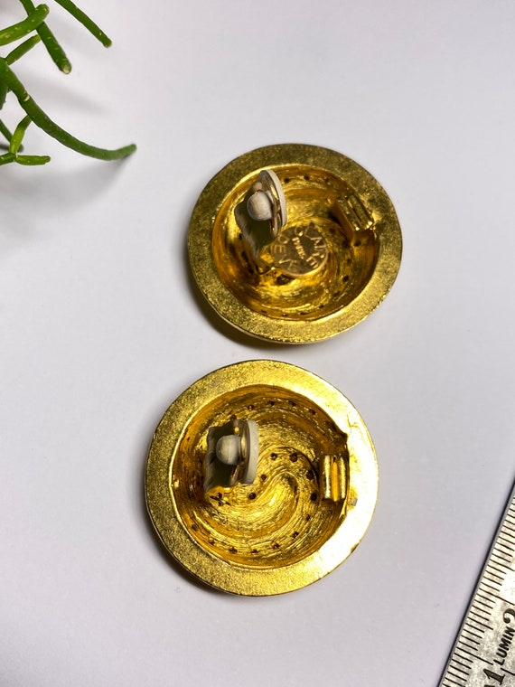 Claire Deve - vintage earrings earrings french de… - image 6