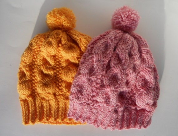 a4f3dcacc4e Knit beanie hat Cable knit hat Winter women s hat